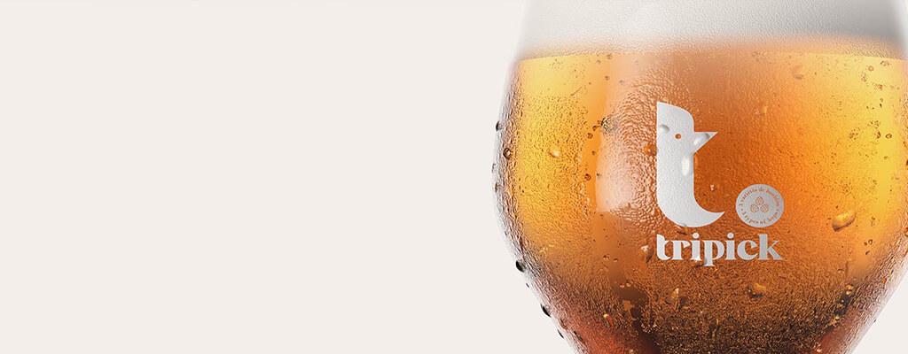 Tripick beer